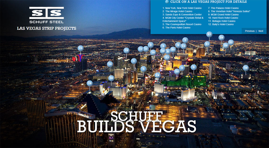 Schuff projects in Las Vegas