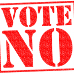 Vote no!