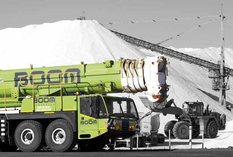 Boom Logistics equipment